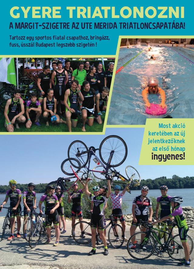 Nyílt napot tart triatlon szakosztályunk! - Triatlon - Hírek ... e93437c293