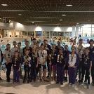 120 érmet nyertek utánpótlás úszóink Traun városában!
