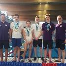 16 arany, 7 ezüst és 4 bronzérmet nyertünk a kecskeméti úszó bajnokságon!