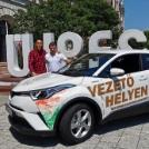 A MOB, a Toyota Magyarország, és a Magyar Karate Szakszövetség támogatása