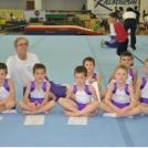 A Serdülő és Gyermek Kezdő Tornaversenyen fiú csapatunk második lett