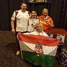 Aranyat, ezüstöt és bronzérmet is nyertek kerekesszékes vívóink Hollandiában!