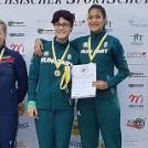 Az ISCH Hannover, nemzetközi verseny Újpesti eredményei