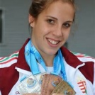 Az Ifjúsági Európa Bajnokságon Kiss Nikoletta 2 érmet szerzett.