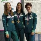 Bronzot nyertek sportlövő lányaink csapatban