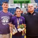 Dollák Tamara birkózónk aranyérmes lett a felnőtt OB-n