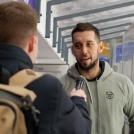 Duschek Dávid a következő szezonban is lila-fehérként fogja őrizni a kaput