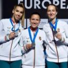 EB ezüstérmes lett a női felnőtt kard válogatott