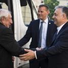 Göröcs János tiszteletére adott vacsorát Orbán Viktor miniszterelnök