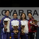 Hármas újpesti siker a női tőr egyéni országos bajnokságon!