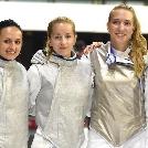 Hatodik helyen végzett a női tőrcsapat az újvidéki EB-n!