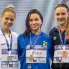 Kapás Boglárka 400 m gyorson ezüstöt nyert