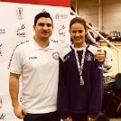 Lila siker a Fedettpályás Újonc Bajnokságon