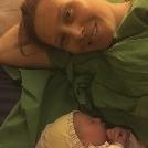 Megszületett Kozák Danuta kislánya!