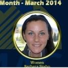 Szabó Barbarát választotta a Rocky Mountain Athletic Conference március hónap női sportolójának
