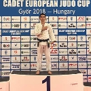 Szatmári György aranyérmet nyert a cselgáncs ifjúsági Európa-kupán!