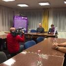 Szurkolói tájékoztató az UTE székházban