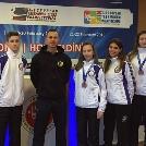 Taekwondo utánpótlásunk szintén jól szerepelt a Klub Csapat Eb-n