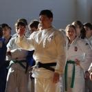 Több százan Ki Young Jeonnal a judo tatamin