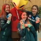 Toma Dorina sportlövőnk ezüstérmes lett csapatban a Junior Világkupán
