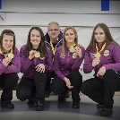 Újpesti sikerek a curling csapat ob-n