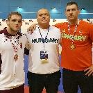 Varga Ádám aranyat, Szabó László bronzérmet nyert Zágrábban!