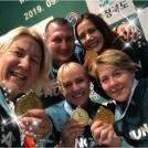 Világbajnokságot nyert a Kerekes-székes Női Tőrcsapat