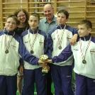 Vívóink csapatban 4 aranyat szereztek az Országos Bajnokságon