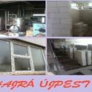 Zajlanak a Szilágyi úti Sportcsarnok felújítási munkái is