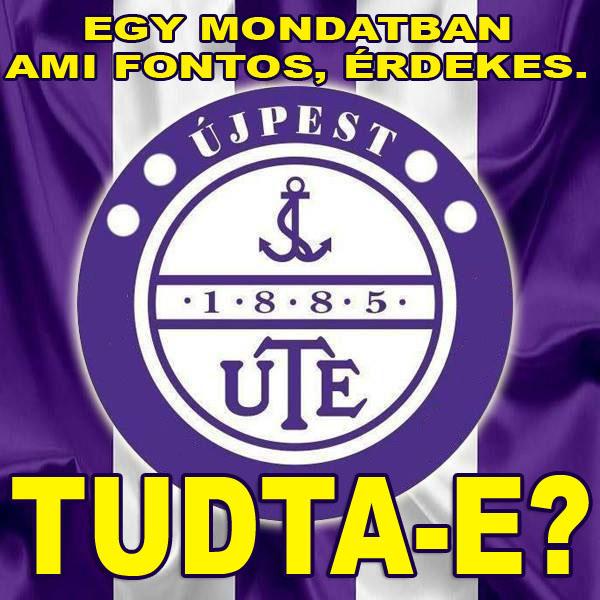 Tudta-e? Információk az UTE-ról!
