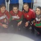 A Curling Magyar Kupán az UTE Bálnák negyedik helyen végeztek