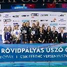 Ezüstérmes lett az UTE csapata az úszó OB-n