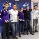 Három fiatal kajakosunkat díjazták
