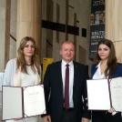 Kotsis Edina és Ducz Barbara ösztöndíjat kap