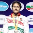 Nagy Bernadett bronzot nyert a junior VB-n