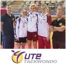 Öt érmet nyertek a magyar taekwondosok a hétvégén! Ebből 4-et az UTE sportolói