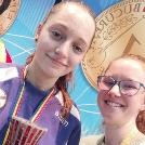 Pápai Viktória Zoé aranyérmes a kadet körversenyen