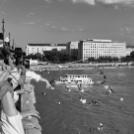 Taekwondos megemlékezés a Margit hídon