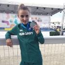 Tóth Dorka ezüstöt nyert csapatban