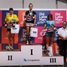 Zelinka Gabriella és Petsuk Zoltán is remekelt a rövidtávú triatlon OB-n