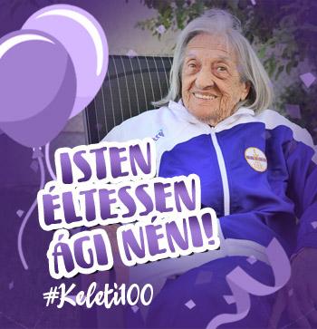 Isten éltessen Ági néni! #Keleti100